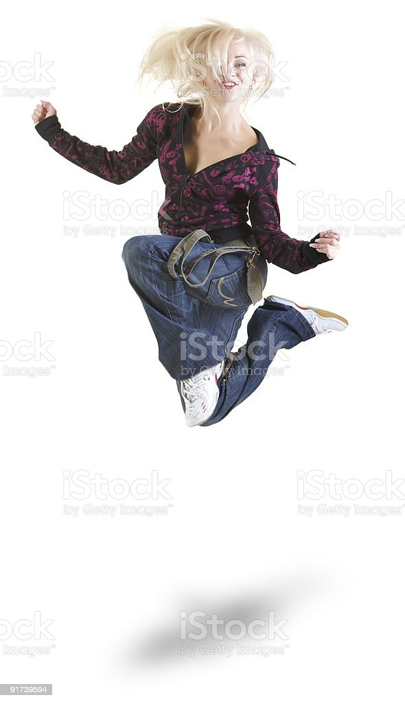 Air dance royalty-free stock photo