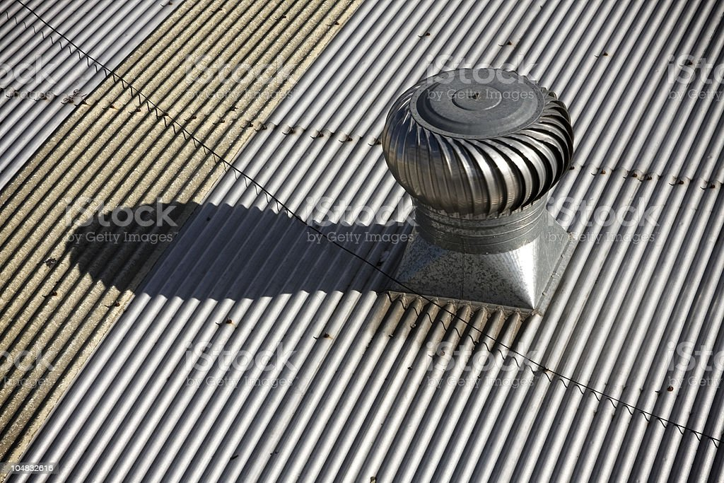 Air duct royalty-free stock photo