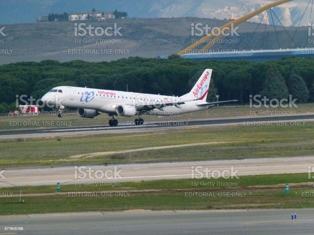 Air Europa stock photo