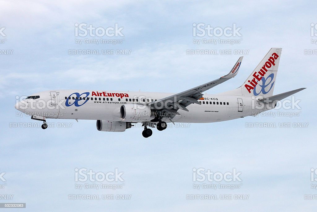 Air Europa stock photo