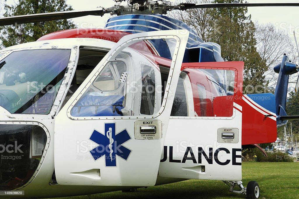Air Evac stock photo