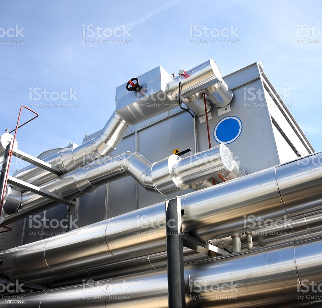 air filter machinery royalty-free stock photo