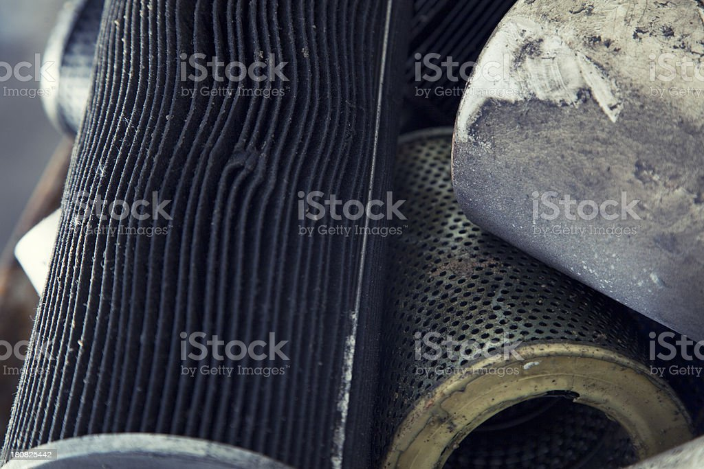 Air filters royalty-free stock photo