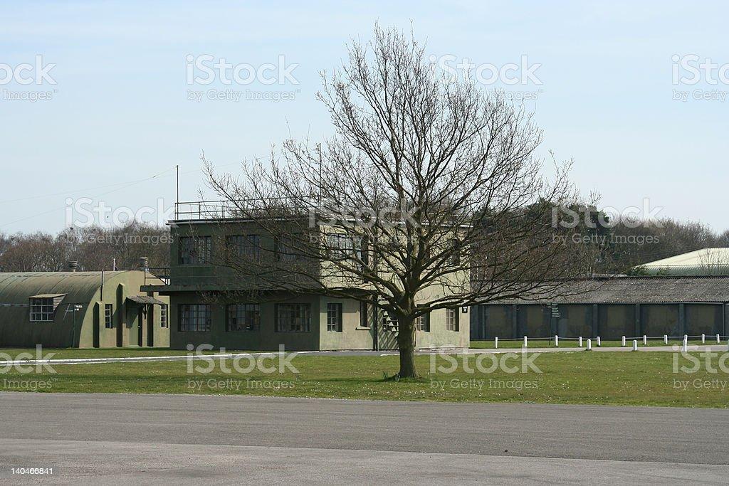 Air Force Barracks royalty-free stock photo