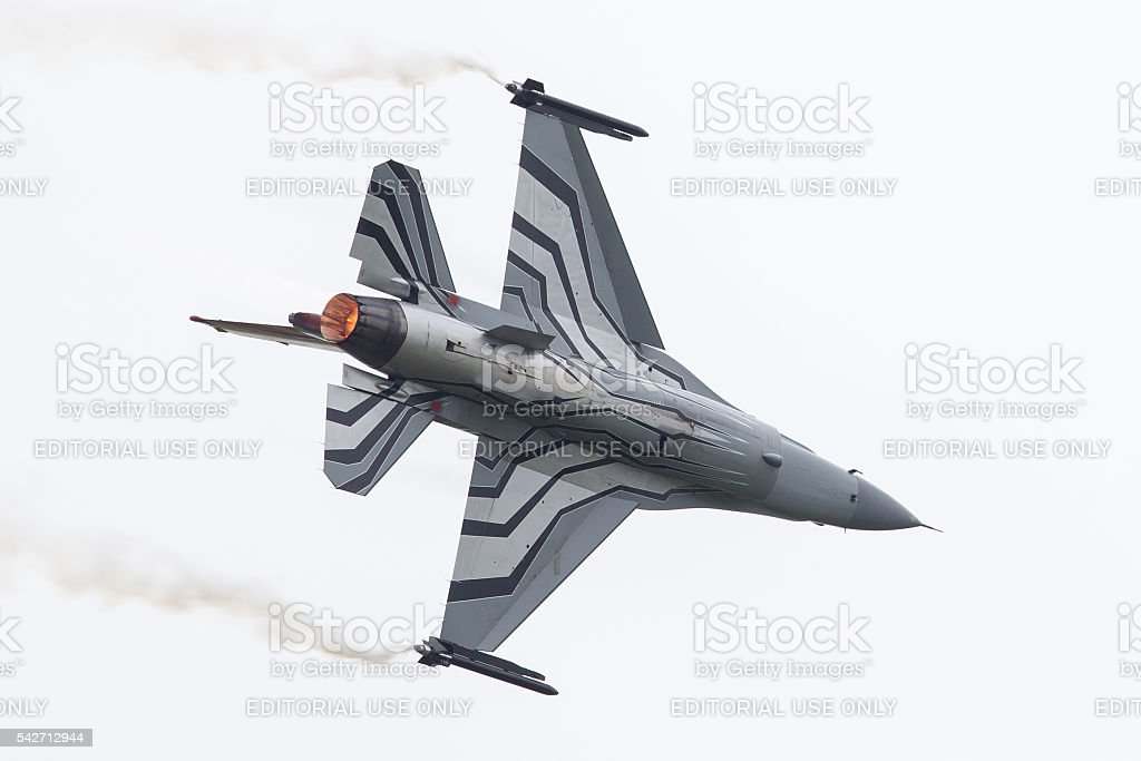 Air Force General Dynamics F-16 AM stock photo