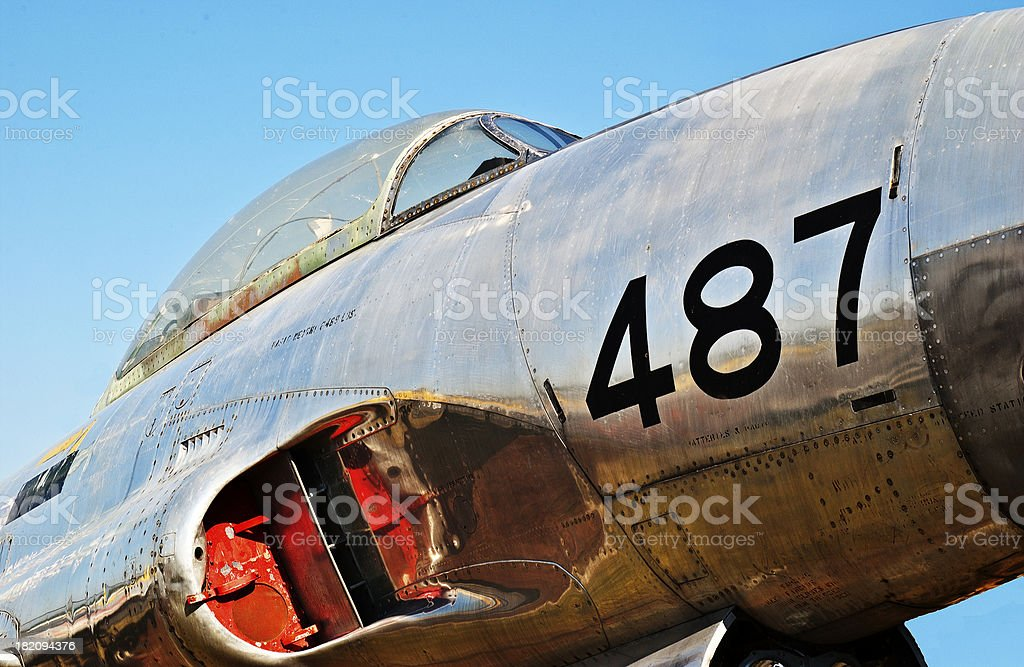 Air Force Jet Fighter 487 royalty-free stock photo