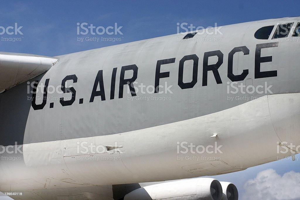 Air Force royalty-free stock photo