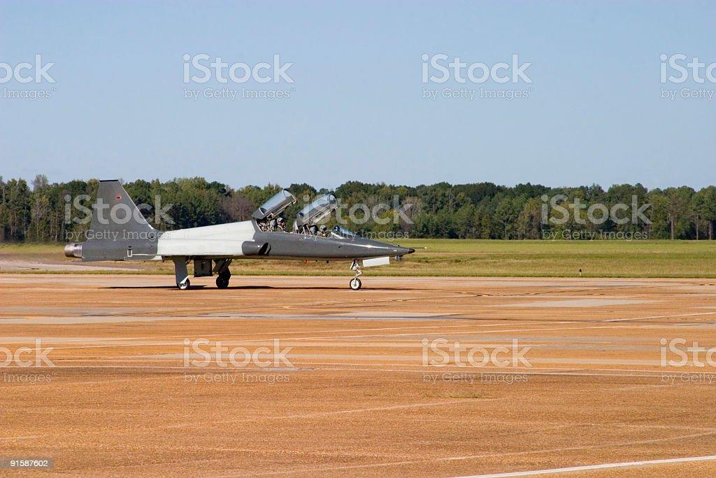 Air Force Pilots stock photo