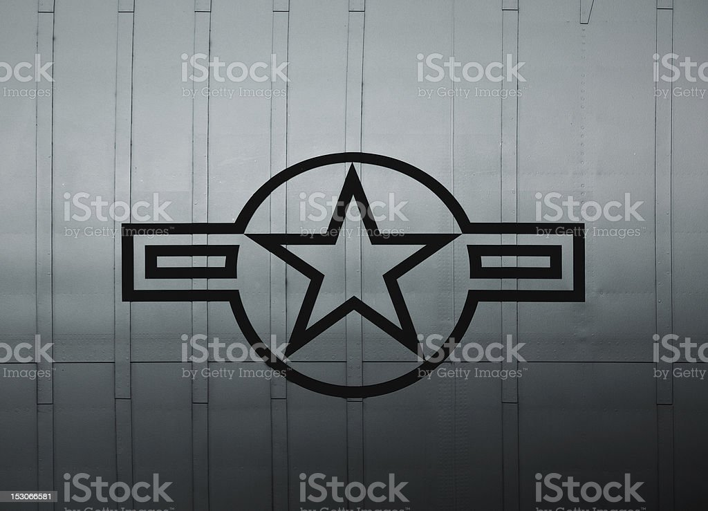 US Air Force Sign royalty-free stock photo