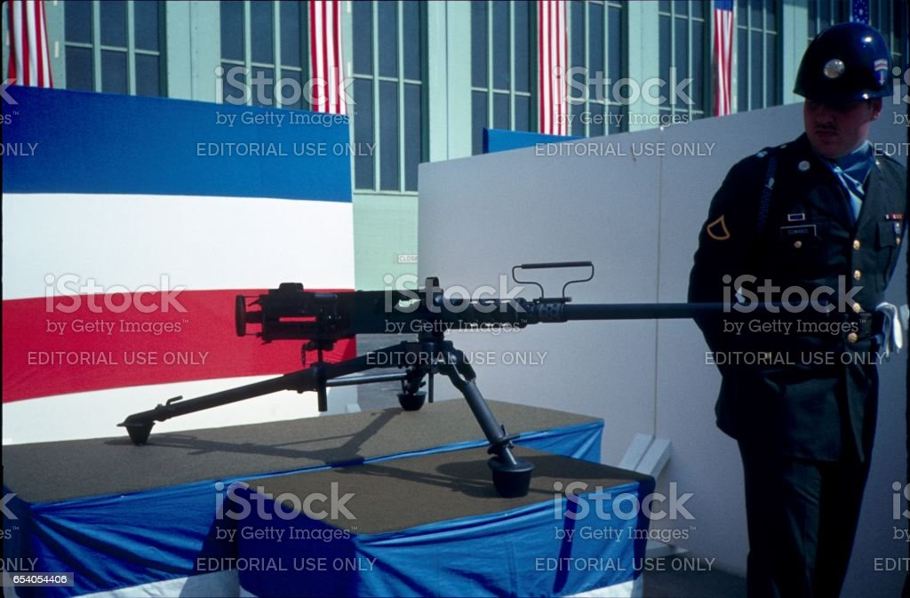 US Air Force, Tempelhof Airport, West Berlin, II. stock photo