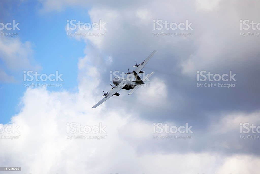 Air Force Transport Plane royalty-free stock photo