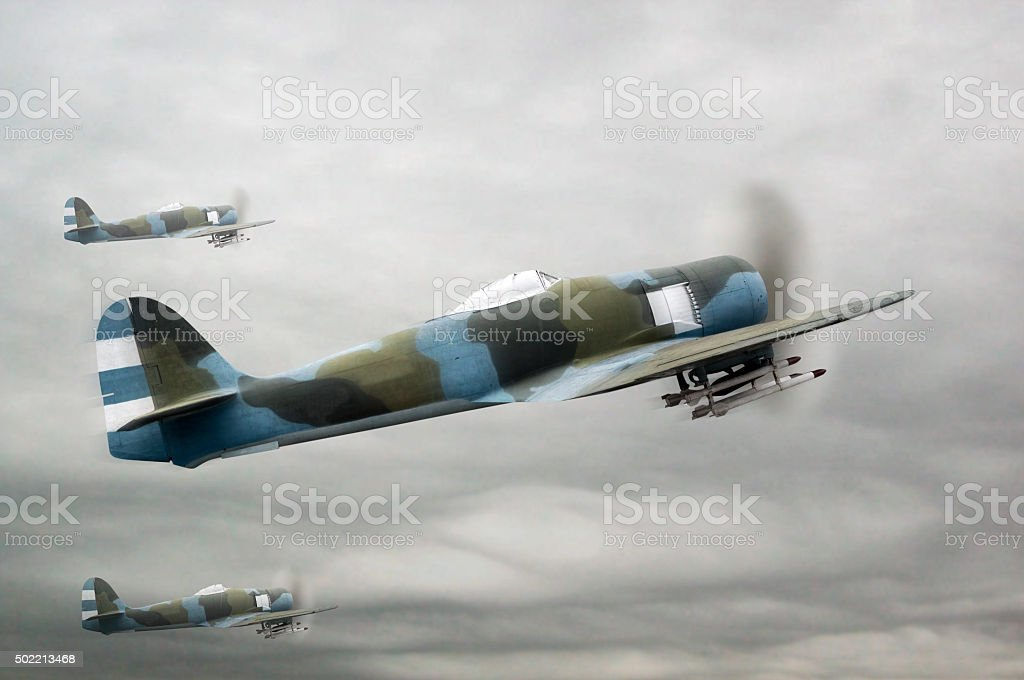 Air forces stock photo