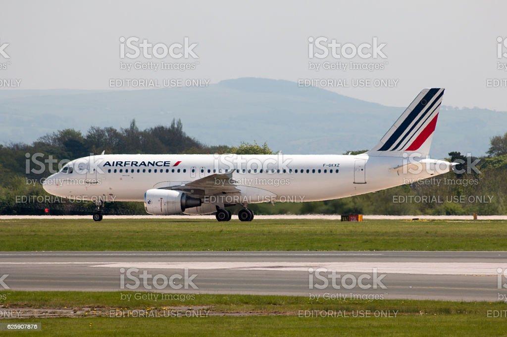 Air France A320 stock photo