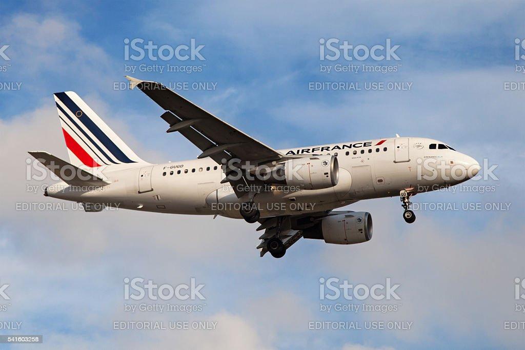 Air France Airbus A318 stock photo