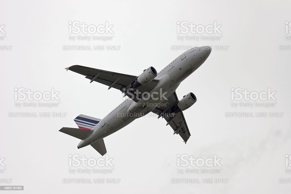 Air France Airbus A319 stock photo