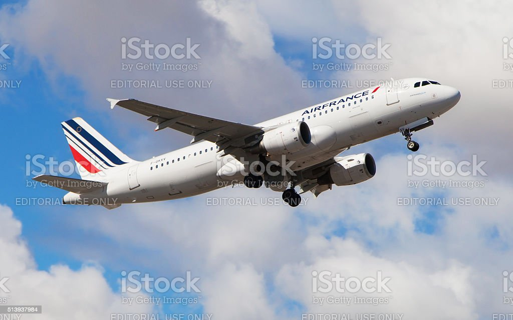 Air France Airbus A320 stock photo