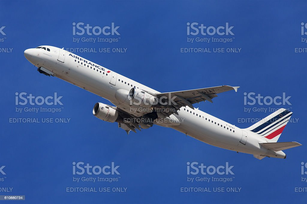 Air France Airbus A321 stock photo