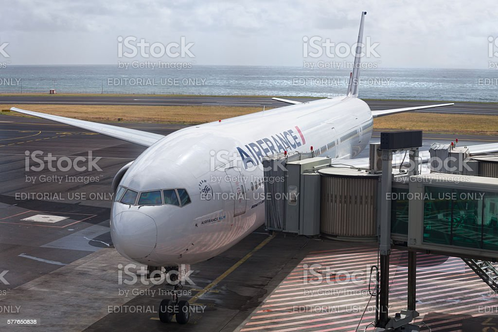 Air France Boeing 777-300 stock photo