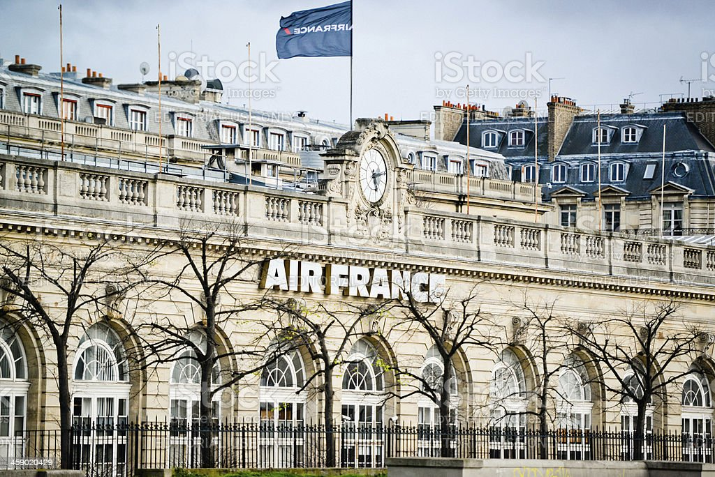 Air France Building in Paris stock photo
