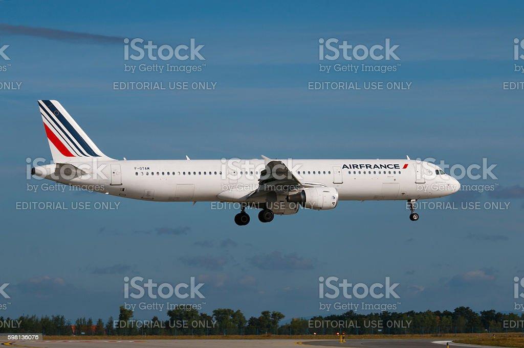 Air France stock photo