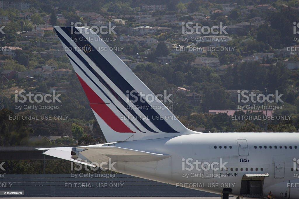 Air France Tail Logo stock photo