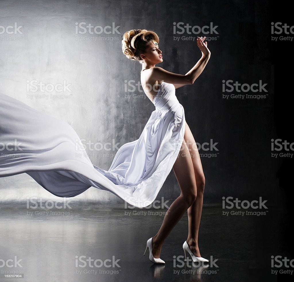 Air girl royalty-free stock photo