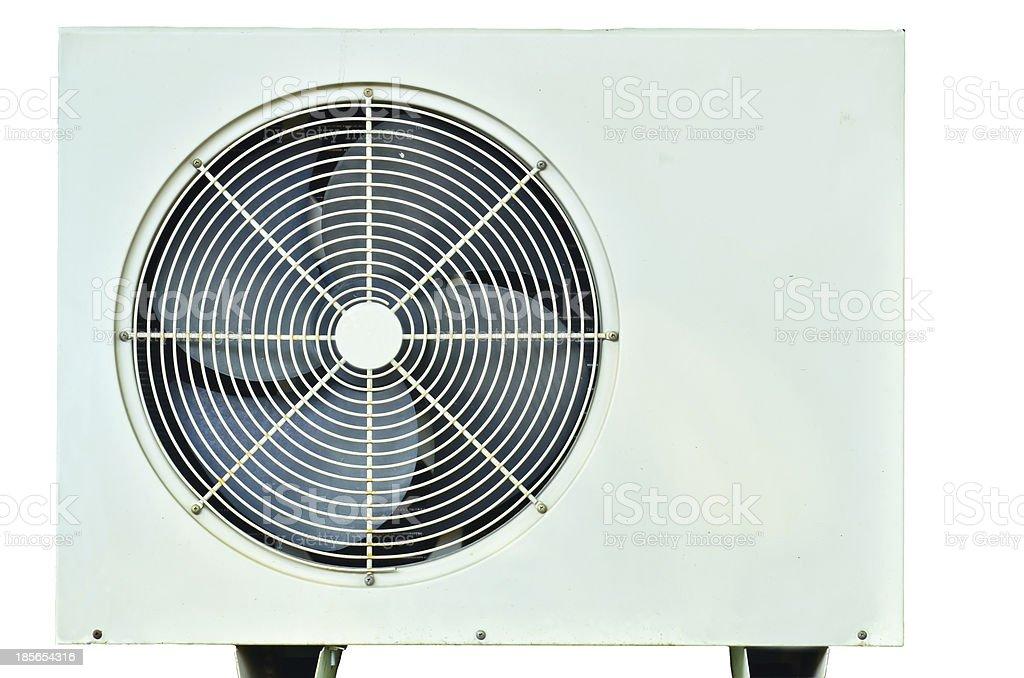 Air heating coil stock photo