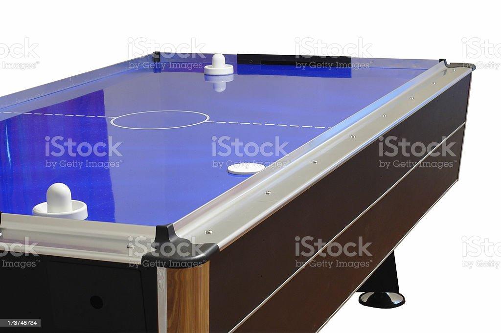Air Hockey Table royalty-free stock photo