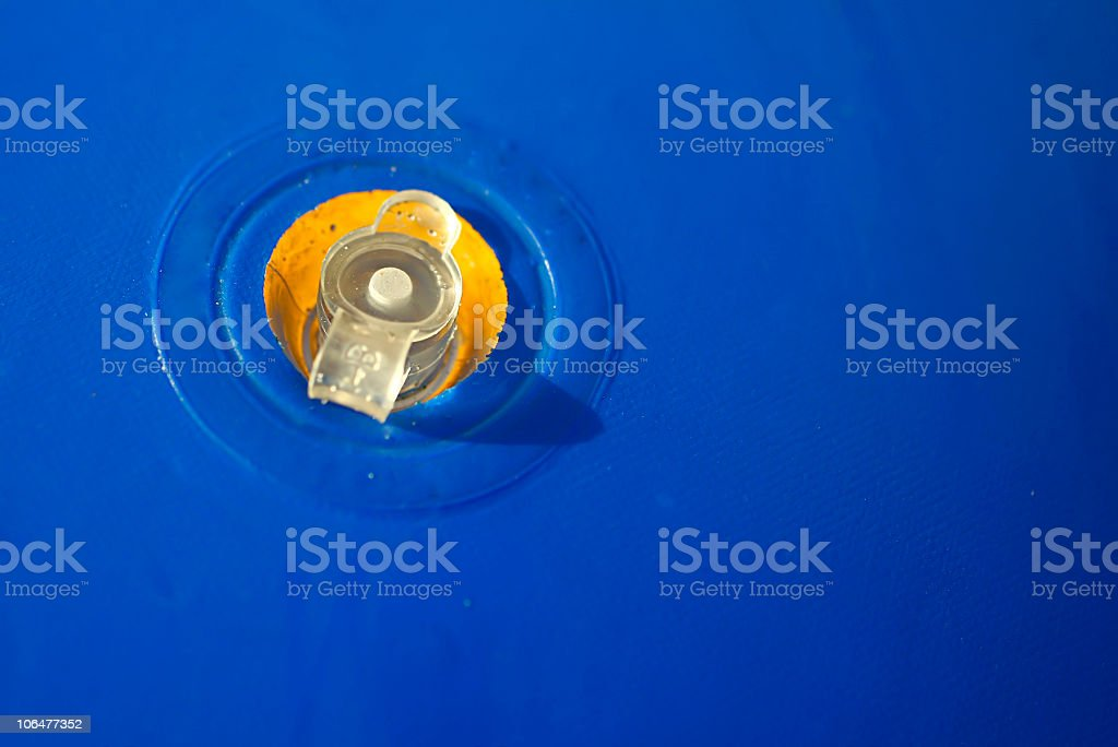 Air hole stock photo