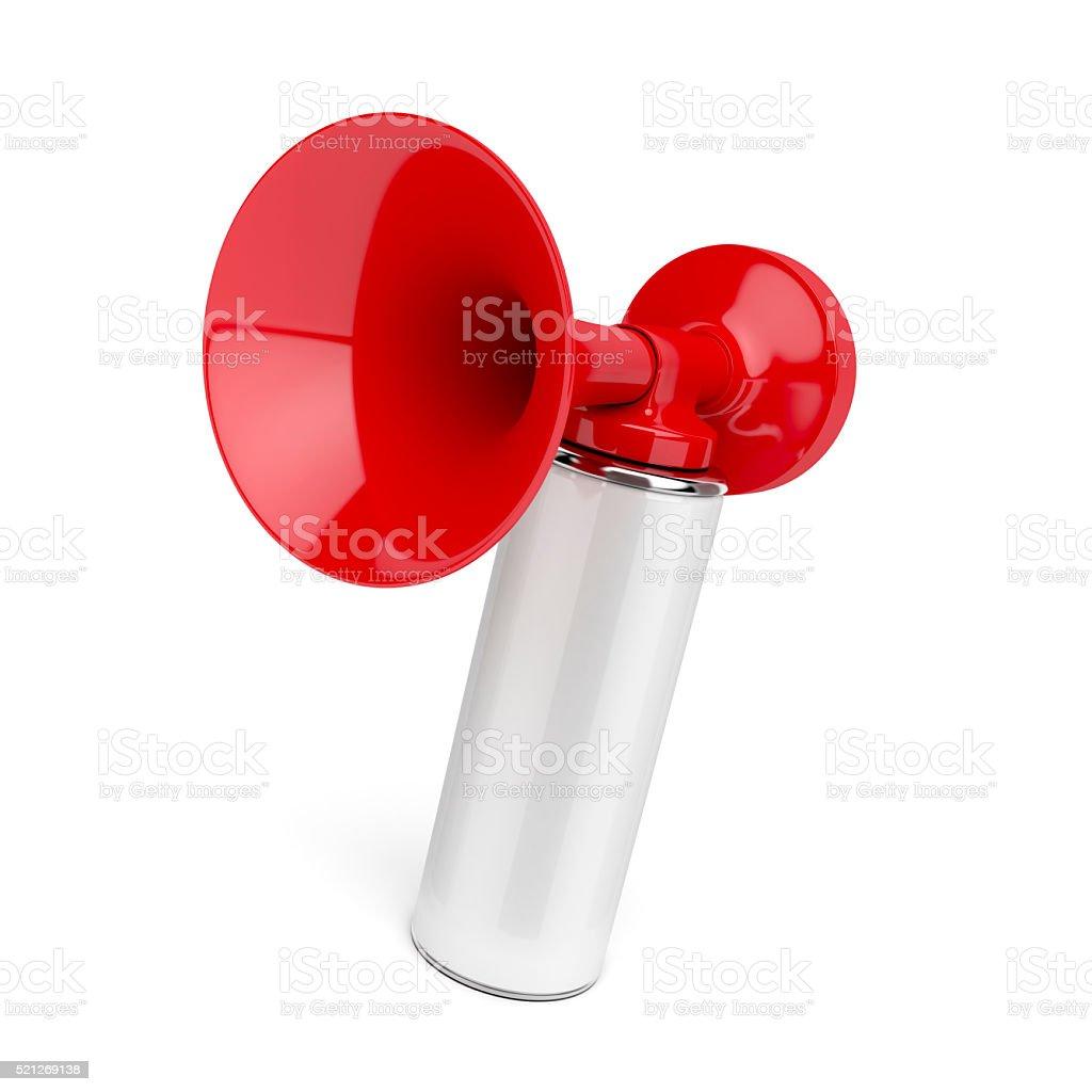 Air horn stock photo