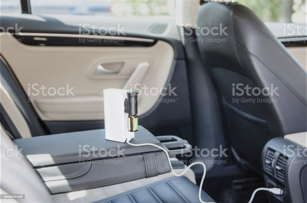 air humidifier on charge stock photo