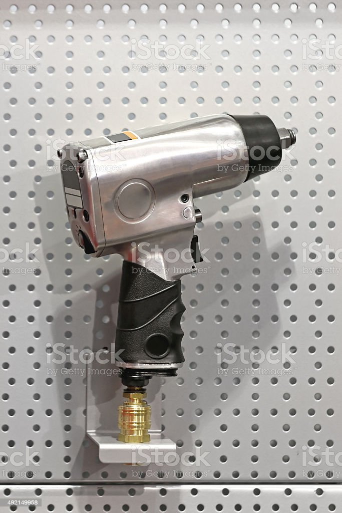 Air Impact Gun stock photo
