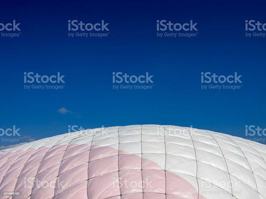 Air inflated house stock photo