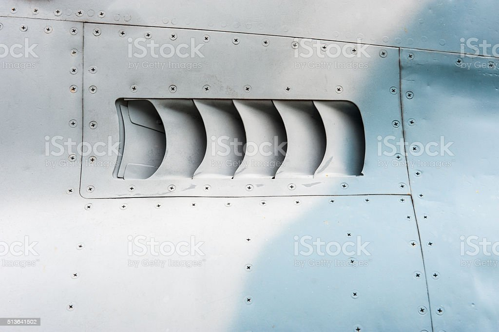 Air intake stock photo