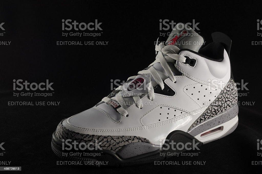 Air Jordan Son of Mars Low royalty-free stock photo