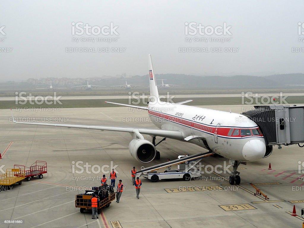 Air Koryo stock photo