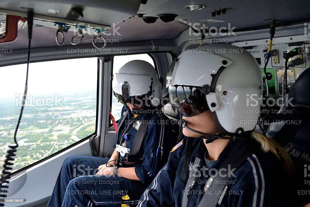 Air Med Angels stock photo