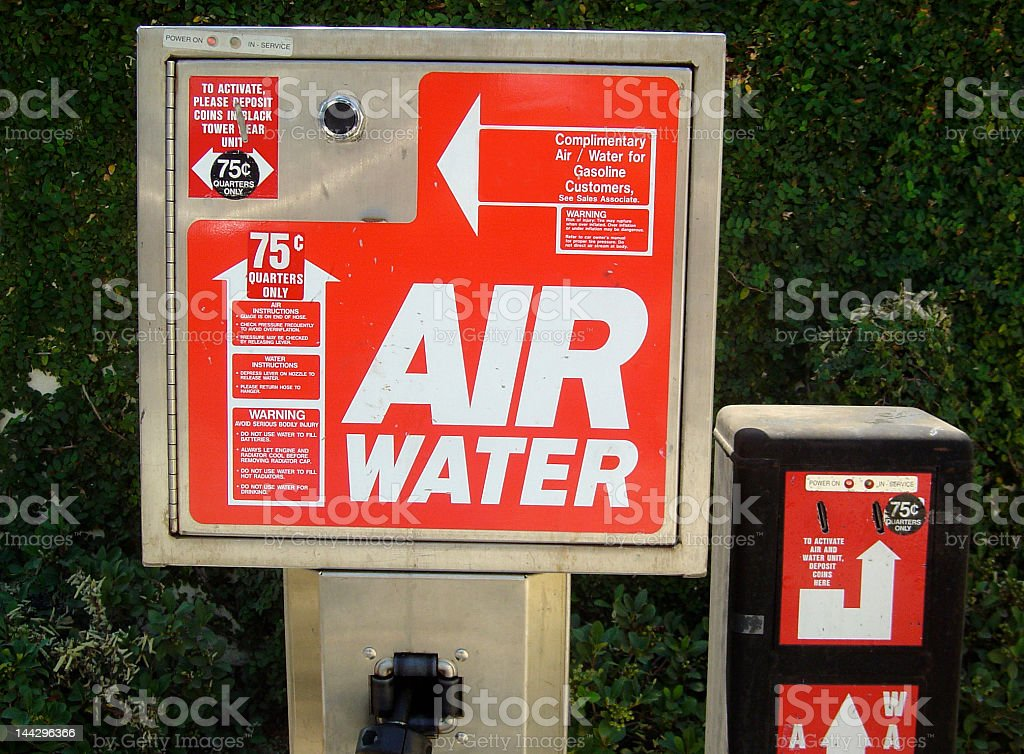 Air Or Water stock photo