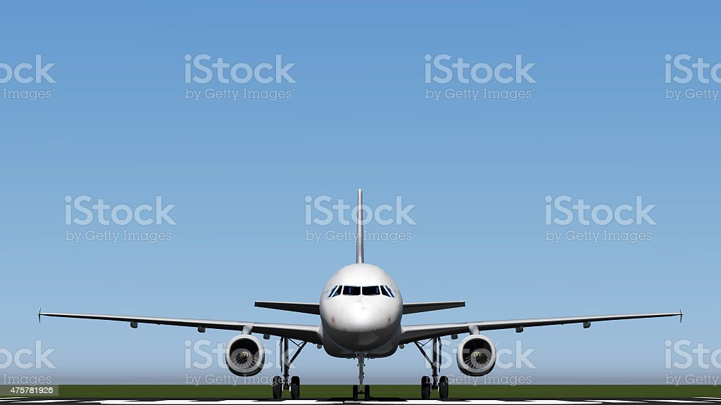 air plane stock photo