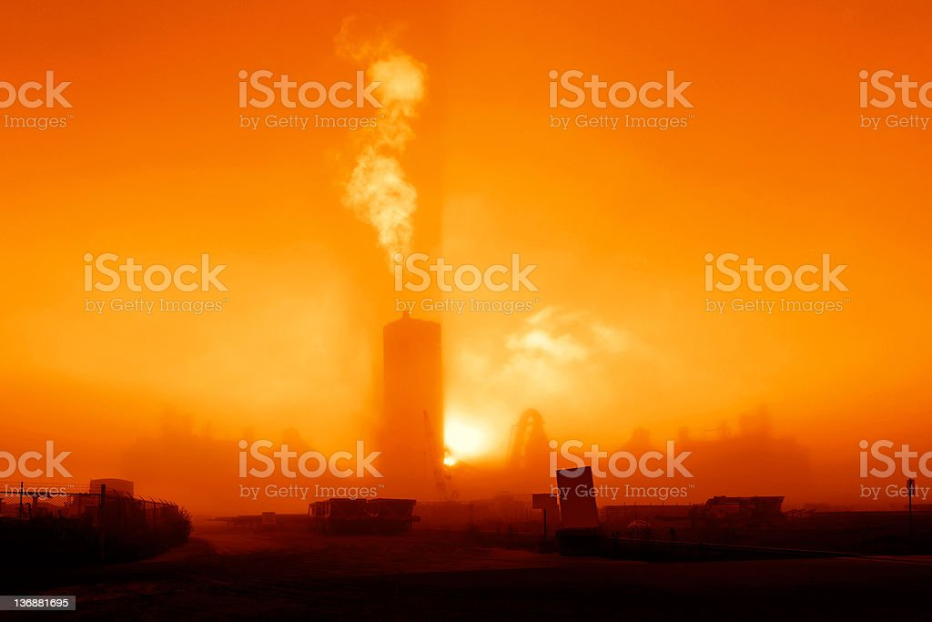 air pollution and smog royalty-free stock photo