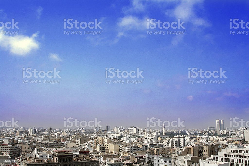 Air Pollution City royalty-free stock photo