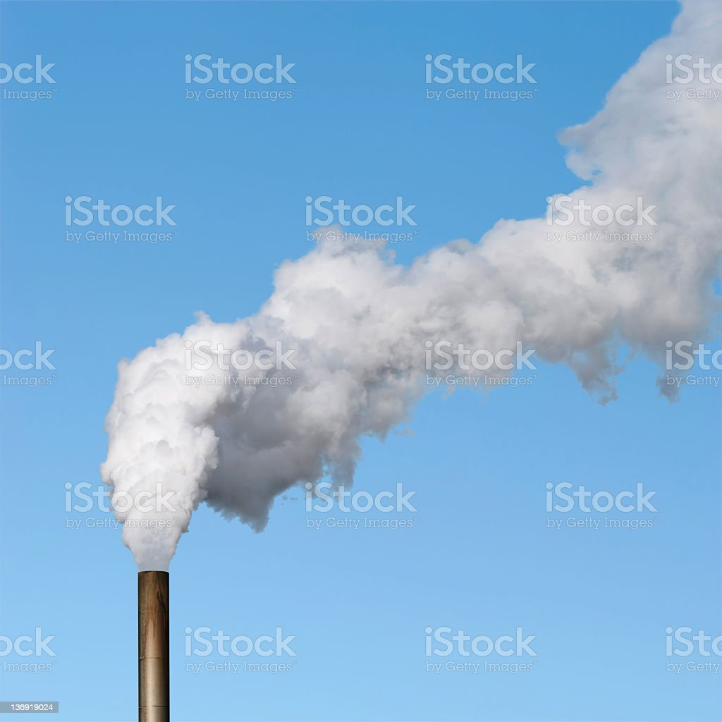 XL air pollution stock photo