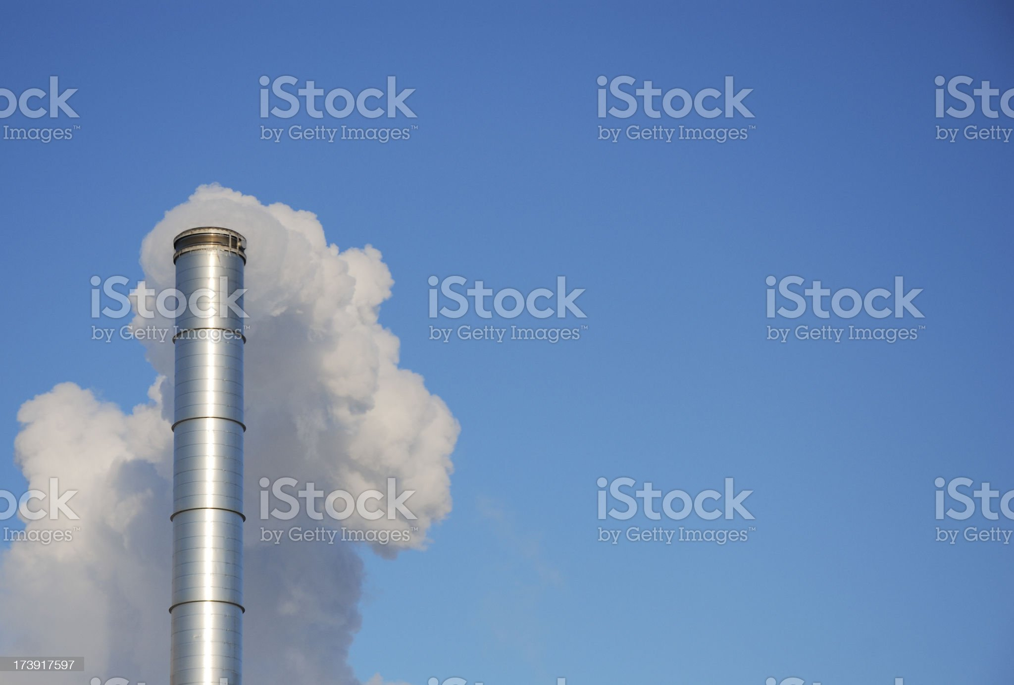 Air pollution. royalty-free stock photo