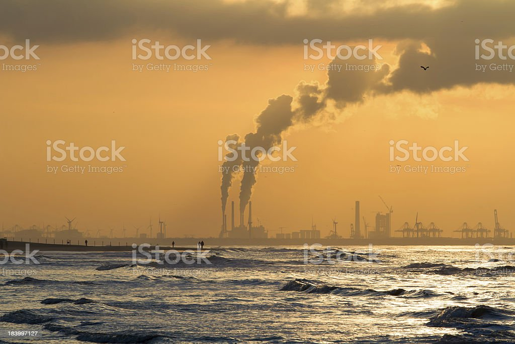 Air Pollution royalty-free stock photo