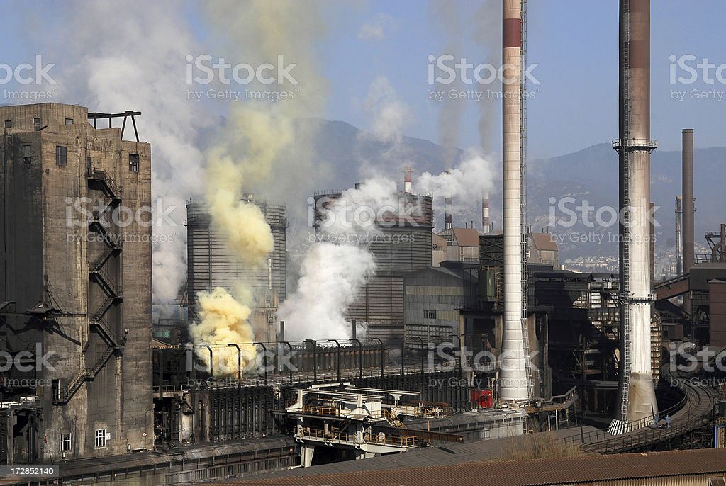 air pollution series royalty-free stock photo