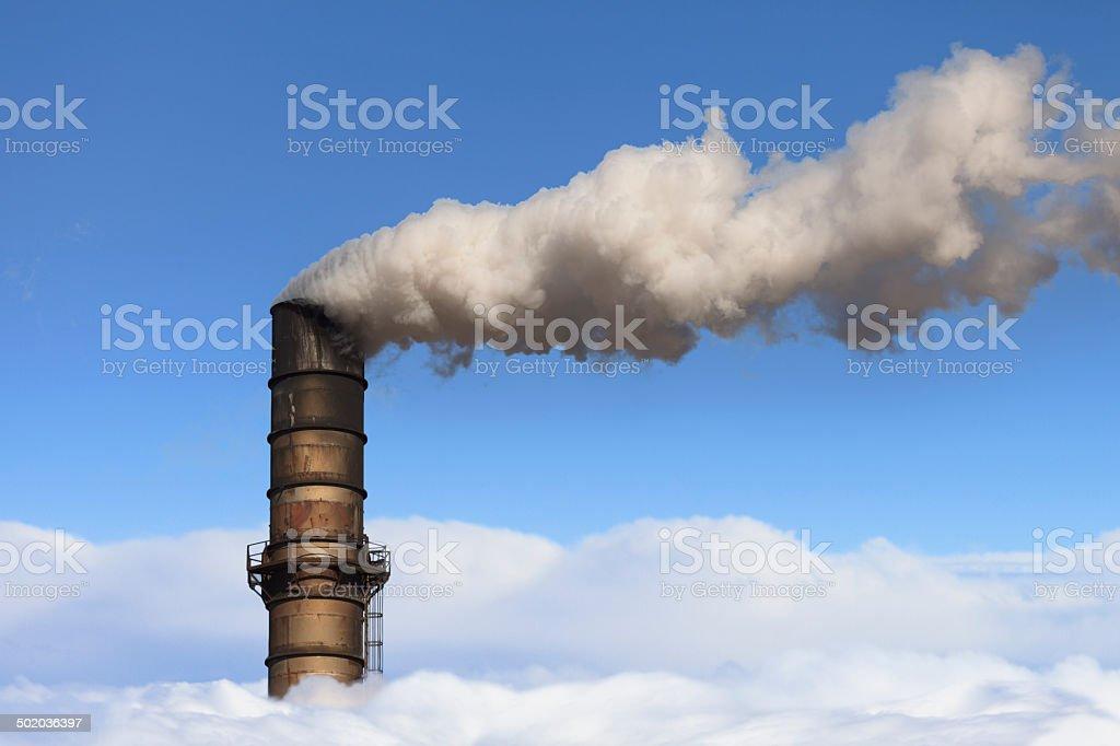 Air Polution royalty-free stock photo