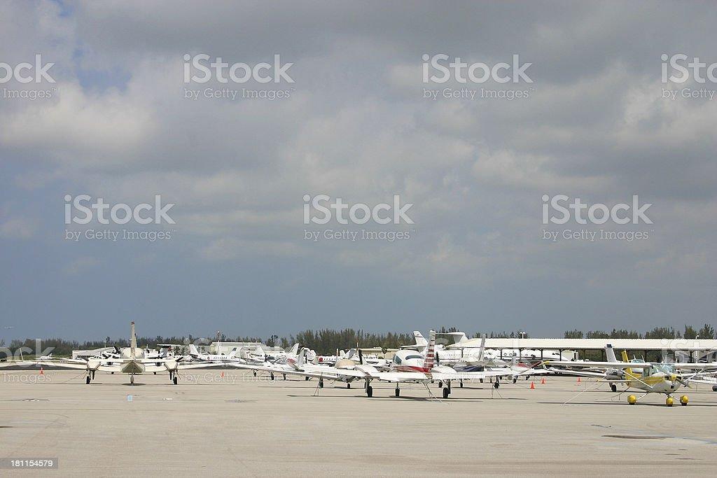 Air Port Parking stock photo