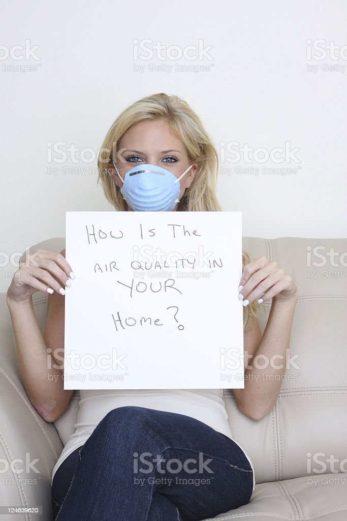 air quality stock photo