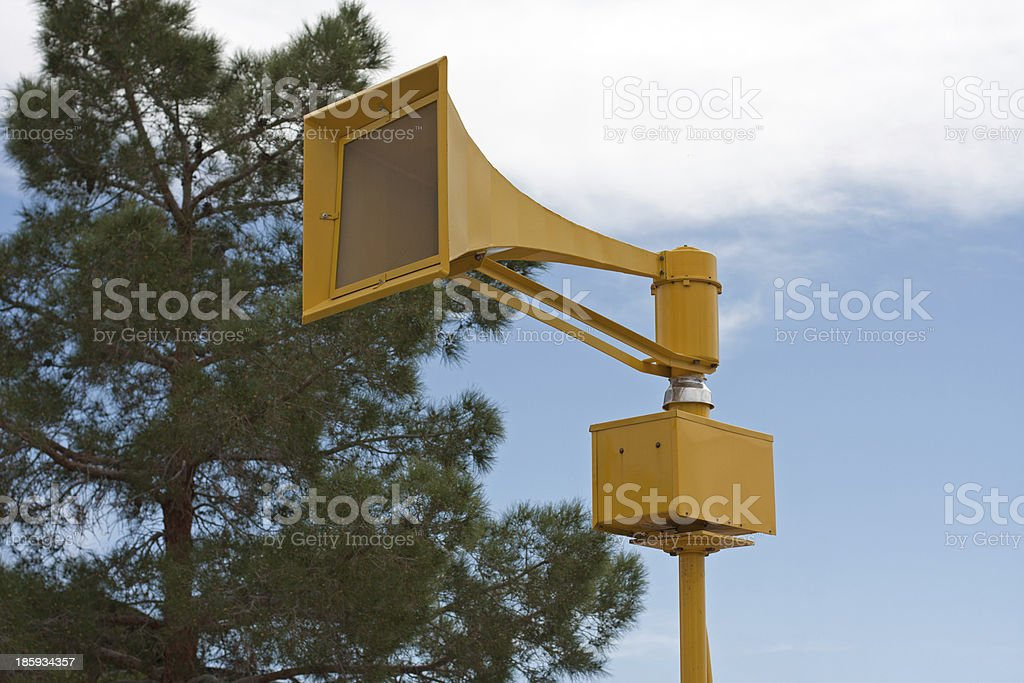 Air Raid Siren stock photo