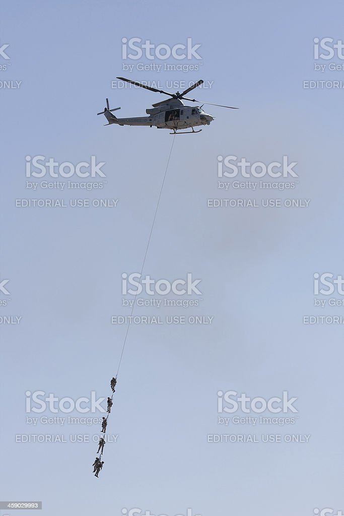 Air Rescue Mission royalty-free stock photo
